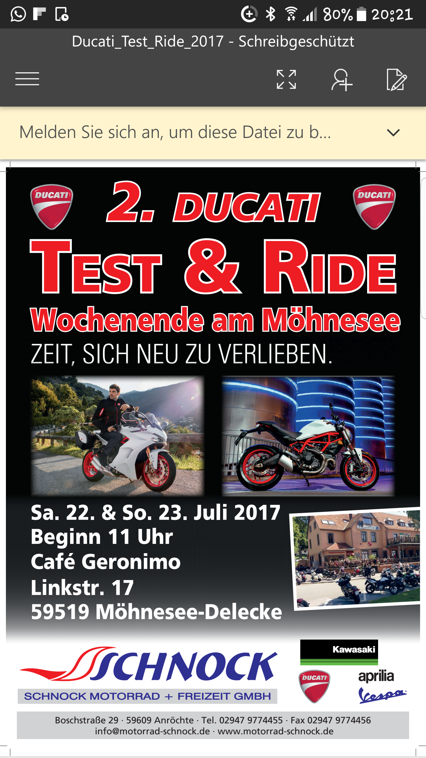 Probe fahren am Möhnesee - Treffpunkte und Meetings - Monstercafe ...